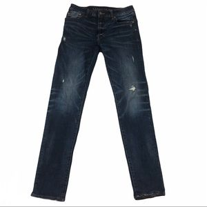 American Eagle Slim Straight Distressed Jeans